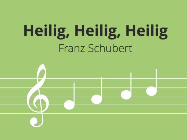 Heilig, Heilig, Heilig, Schubert course image