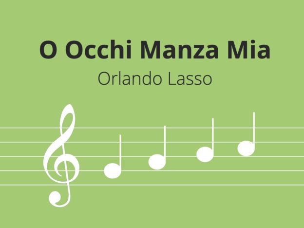 O Occhi Manza Mia, Lasso course image